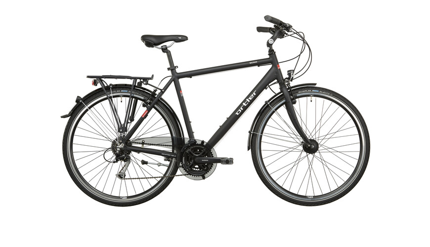 Ortler Mainau Cykel Herrer sort